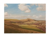 Melbury Abbas, 2011 Giclee Print by Peter Breeden