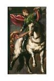 Saint Martin Giclee Print by Giovanni Antonio Pordenone