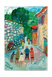 Tourists, Segueret, 2003 Giclee Print by Fred Yates