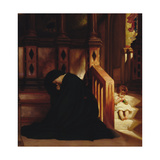 The Widow's Prayer, c.1864/65 Giclee Print by Frederick Leighton