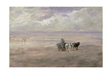 On the Beach Giclee Print by Anton Mauve
