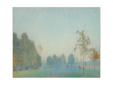 Park Scene and Tower, 1912 Giclee Print by James Hamilton Hay