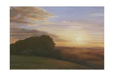 The Wessex Ridgeway, 2009 Giclee Print by Peter Breeden