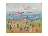 The Beach, 2003 Giclee Print by Fred Yates
