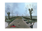 Somerset Levels Giclee Print by Tristram Paul Hillier