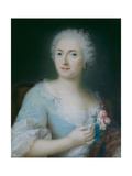 Portrait of a Lady Giclee Print by Rosalba Giovanna Carriera