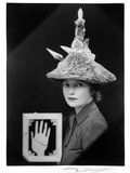 Ceremonial Hat for Eating Bouillabaisse, 1936 Photographic Print by Eileen Agar