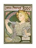 Poster Advertising Lance Parfum 'Rodo', 1896 Giclee Print by Alphonse Mucha