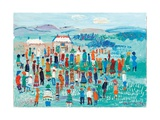The Meet, 2003 Giclee Print by Fred Yates