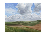 Looking Towards Salisbury Plain from the Ramparts of Scratchbury Hill Fort 2, 2010 Giclee Print by Peter Breeden