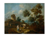 Landscape Giclee Print by Giuseppe Zais