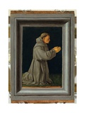 St. Francis in Prayer Giclee Print by Bartolomeo Bon