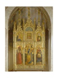Polyptych of Saint Sabina Giclée-Druck von Antonio Vivarini