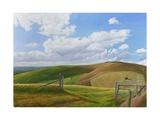 Melbury Hill, Dorset, 2010 Giclee Print by Peter Breeden