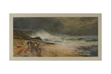 Storm on the Firth, 1874 Giclee Print by Samuel Bough