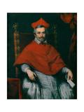 Portrait of Cardinal Federico Corner, 1633-35 Lámina giclée por Bernardo Strozzi