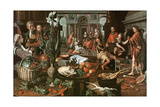 Christ in the House of Martha and Mary Giclee Print by Pieter Aertsen