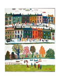Northern Strip Painting, 2003 Giclee Print by Fred Yates
