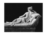 Pauline Bonaparte, Princess Borghese as Venus Triumphant, Rear View, c.1805-08 Giclee Print by Antonio Canova