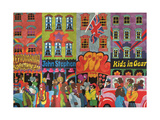 A Saturday Morning 4, from 'Carnaby Street' by Tom Salter, 1970 Giclee Print by Malcolm English