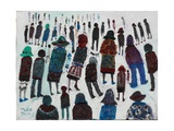 Watching Summit, 2003 Giclee Print by Fred Yates