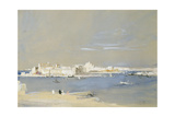 The Harbour, Valetta, Malta Giclee Print by Hercules Brabazon Brabazon