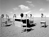 Konferenzen 9 Photographic Print by Jaschi Klein