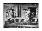 Roman Charity Giclée-Druck von Perino Del Vaga