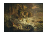 The Deluge, 1819-29 Giclee Print by Francis Danby