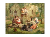 First Steps, 1829 Giclee Print by Daniel Maclise