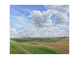 Looking Towards Salisbury Plain from the Ramparts of Scratchbury Hill Fort, 2009 Giclee Print by Peter Breeden