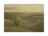 Wiltshire Sunset from the Wessex Ridgeway, 2009 Giclee Print by Peter Breeden