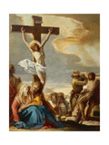 Christ Crucified, Stations of the Cross, 1747 Giclée-tryk af Giandomenico Tiepolo