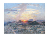 Sunset in Provence, c.1927 Giclee Print by Adrian Scott Stokes