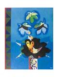 Bird Woman Landscape Giclee Print by Eileen Agar