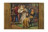 Borgia, 1851-59 Giclee Print by Dante Charles Gabriel Rossetti