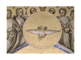 The Dove of the Holy Spirit, 1360-70 Giclee Print by Giusto Di Giovanni De' Menabuoi