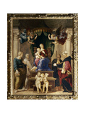Madonna Del Baldacchino, c.1507 Giclee Print by  Raphael