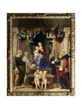 Madonna Del Baldacchino, c.1507 Giclee Print by  Raphael