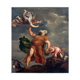 Abraham Sacrificing Isaac Giclee Print by  Titian (Tiziano Vecelli)
