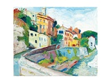 Vaison II. 2003 Giclee Print by Fred Yates