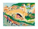 Roman Bridge, Nyons, 2003 Giclee Print by Fred Yates