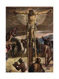 Detail of 'The Crucifixion', 1565 Giclee Print by Jacopo Robusti Tintoretto