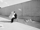 Konferenzen 17 Photographic Print by Jaschi Klein