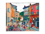 Vaison Ville, 2003 Giclee Print by Fred Yates