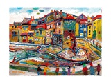 Vaison L'Ouveze, 2003 Giclee Print by Fred Yates