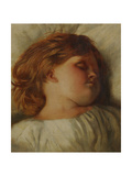 The Sleeping Child - a Granddaughter, c.1896 Giclee Print by William Strutt