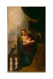 Annunciation Giclee Print by Andrea Schiavone