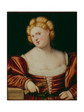 Portrait of a Lady Giclee Print by Bernardino Licinio