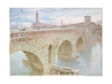 Verona, 1896 Giclee Print by Albert Goodwin